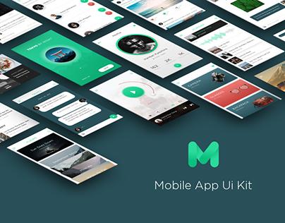 Mugen Mobile App UI KIT