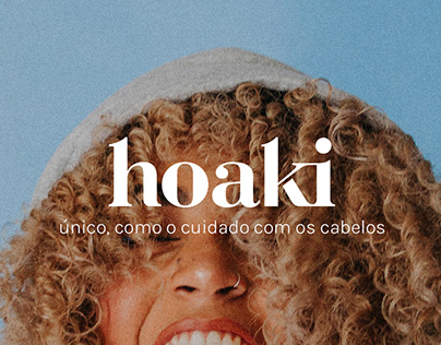 hoaki. | hair care branding