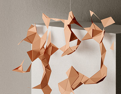 PAPERWORK: Abstract Origami