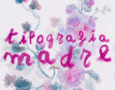 Tipografía Madre