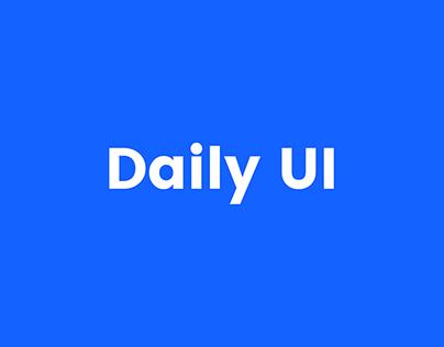 Daily UI challange
