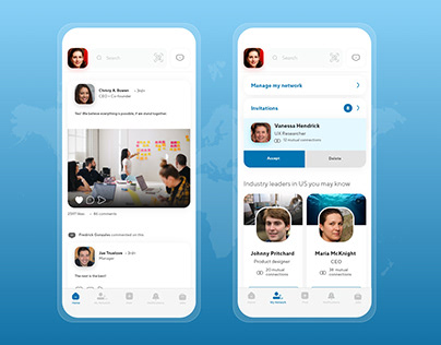 Linkedin App Informal Redesign