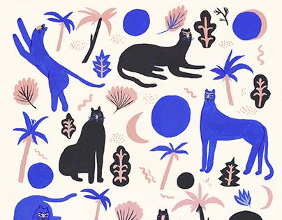 Panthers pattern