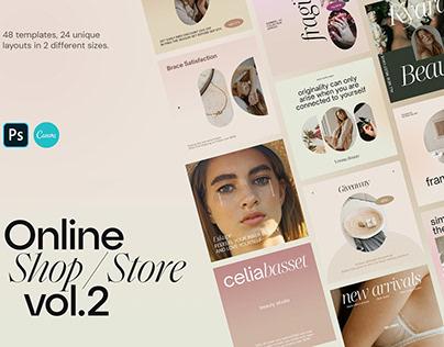 Online Shop Instagram Template