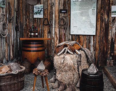 Sheep Ranch in Patagonia