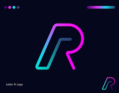 R Letter Modern Logo