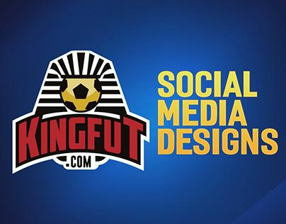 KingFut Social Media Designs
