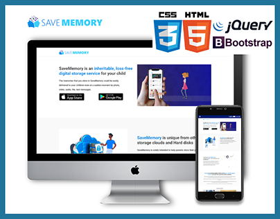 saveMemory.net front end development