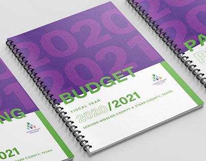 Budget and Employee Handbook Covers