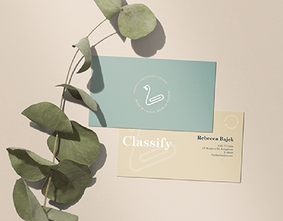 Classify- Personal Organizational Services Branding