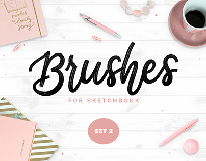 Sketchbook Brushes - 2 - Textures