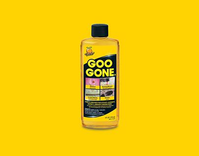 Goo Gone Print Ad Campaign