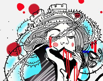 illustration of phobias for ology.sh