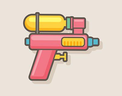 (FREE!!) Water Gun