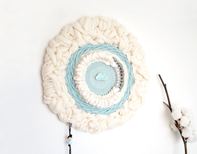 Silky Moon, round weaving