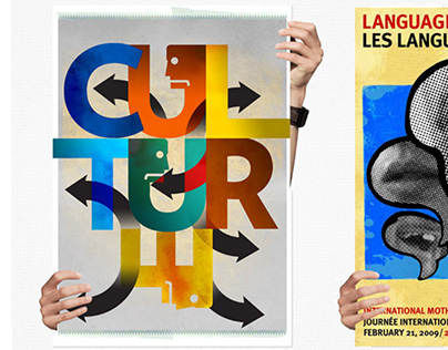 Unesco Language Day Poster Competition