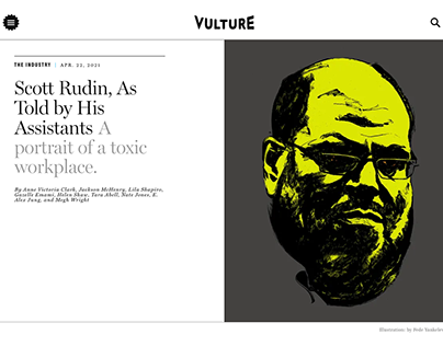 "New York Magazine / Vulture ""Scott Rudin"""