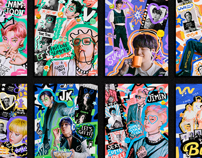BTS Butter ✦ Posters