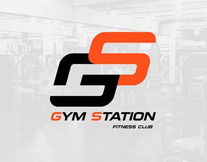 Fitness club logotype