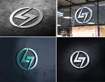 lame light logo design