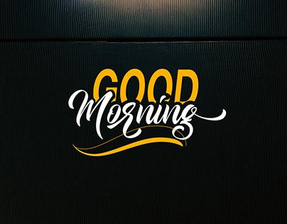 Free GoodMorning Script Font