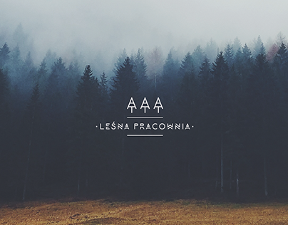 logo + business cards / leśna pracownia