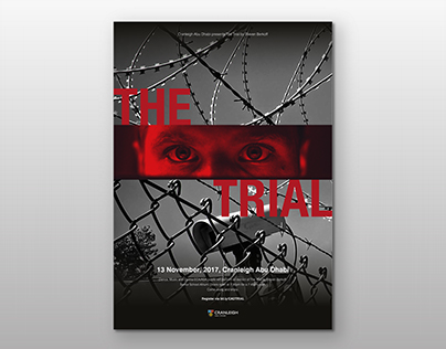 The Trial - Show Branding and Advertising