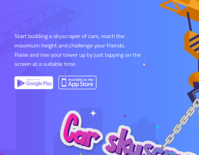 Car skyscraper Builder Game
