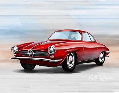 Cars - Digital Painting