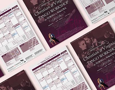 Flyer : Argentina Tango Workshop