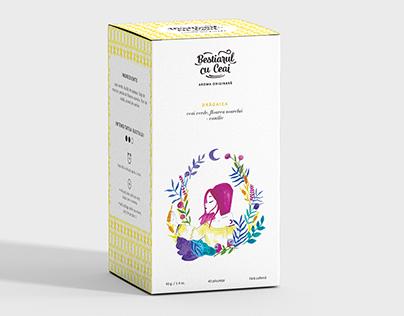 Bestiarul cu Ceai / Thesis Branding Project