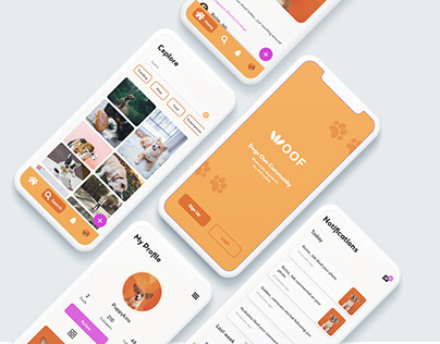 Woof Woof Projects Photos Videos Logos Illustrations And Branding On Behance