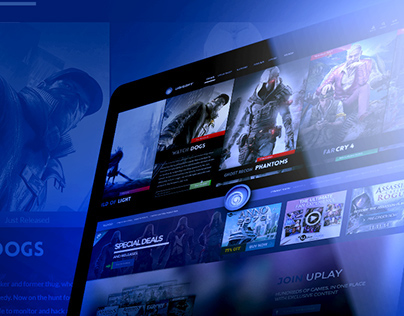 Ubisoft   website redesign