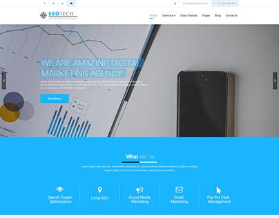 SEOTECH - SEO / Digital Marketing HTML Template