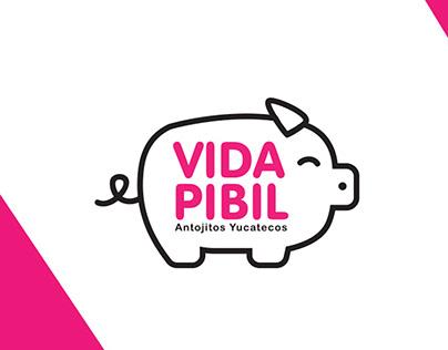 Branding - Vida Pibil Antojitos Yucatecos