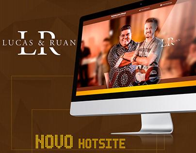 Hotsite Lucas & Ruan