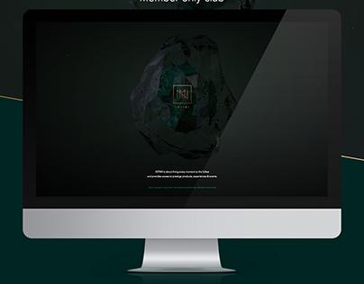 Luxury Website for Pernod Ricard