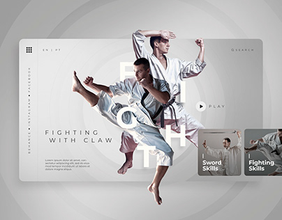 Fight - Interface Design UI/UX