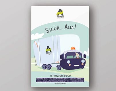 ALIA SERVIZI AMBIENTALI - MANUALE SICUREZZA
