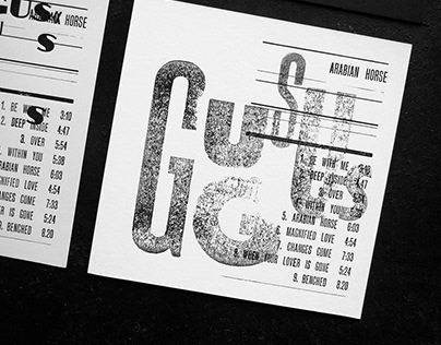 Gus Gus CD / Typographic Printing Workshop