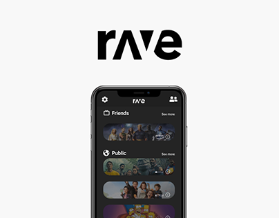 Rave - Redesign