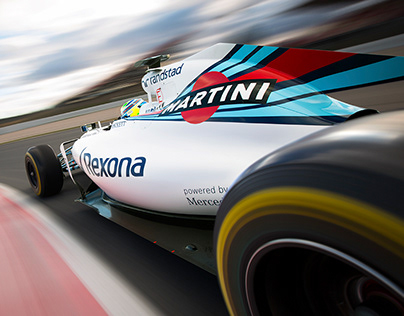 Martini: Williams Martini Racing FW39 Rebranding