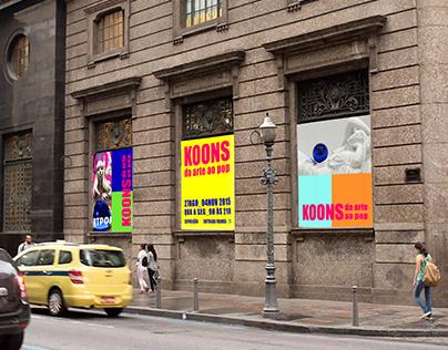 koons: da arte ao pop -- projeto gráfico