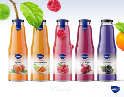 Juice Label Design