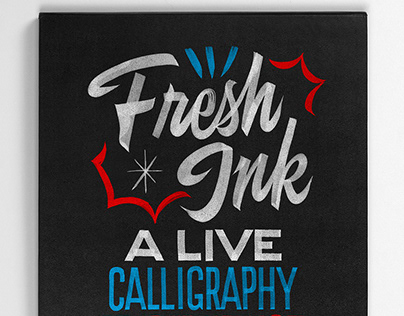 FRESH INK - LIVE CALLIGRAPHY