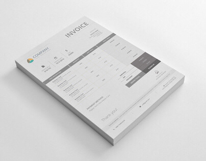 INVOICE WITH WORD EXCEL
