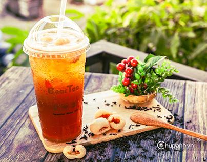 Chụp ảnh trà sữa Bear Tea