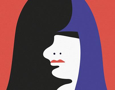 Feminism, Media & Gender Equality congress poster. M.T.