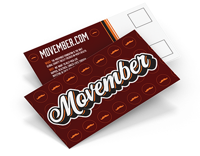 Movember Post Cards