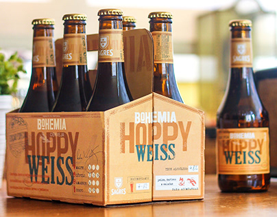 Sagres Bohemia - Hoppy Weiss Packaging